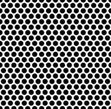 Grating картина с решеткой, сеткой кругов repeatable Стоковые Изображения