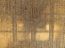 Grating dourado que se emite o brilho Imagens de Stock Royalty Free