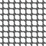 Grating. Seamless pattern on white background Royalty Free Stock Images