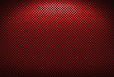 Grating vermelho do metal Fotografia de Stock Royalty Free