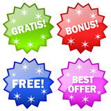 Gratis free icon Royalty Free Stock Image