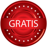 Gratis stamp. For your market Stock Photos