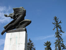 The Gratitude to France monument in Serbia, Belgrade Royalty Free Stock Image