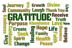 Gratitude Stock Image
