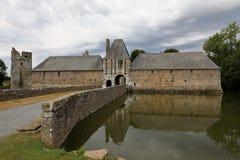 Gratot-Schloss in Normandie Lizenzfreie Stockfotografie