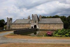 Gratot-Schloss in Normandie Lizenzfreies Stockbild