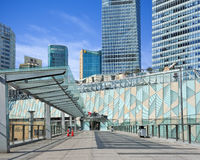 Grattacieli al distretto finanziario di Lujizui, Shanghai, Cina Immagine Stock Libera da Diritti