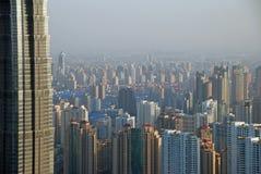 Grattacieli, alti a piccolo Fotografie Stock
