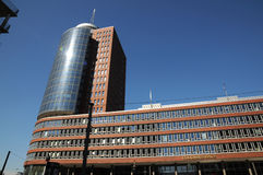 Grattacieli a Amburgo, Germania Immagine Stock