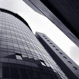 Grattacieli astratti della costruzione Immagine Stock Libera da Diritti