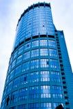 Grattacieli astratti della costruzione Fotografie Stock