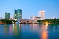 Grattacieli a Bangkok fotografia stock