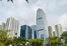 Grattacieli a Bonifacio Global City - Manila, Filippine fotografie stock libere da diritti