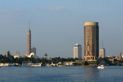 Grattacieli a Cairo Immagine Stock Libera da Diritti
