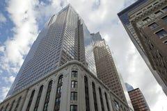 Grattacieli a Calgary, Canada Fotografia Stock