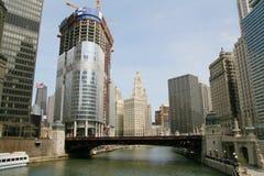 Grattacieli in Chicago Immagini Stock