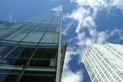 Grattacieli in Chicago Fotografia Stock Libera da Diritti