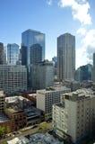 Grattacieli in Chicago Fotografia Stock