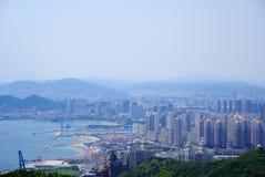 Grattacieli in Cina Fotografia Stock Libera da Diritti