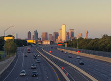 Grattacieli a Dallas del centro Il Texas, U.S.A. Immagine Stock