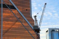 Grattacieli del centro di affari internazionale (città), Mosca Immagine Stock Libera da Diritti