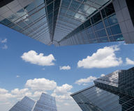 Grattacieli del centro di affari internazionale (città), Mosca Immagini Stock Libere da Diritti