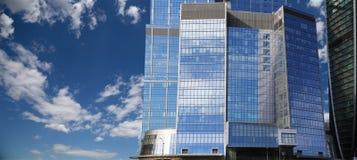 Grattacieli del centro di affari internazionale (città), Mosca, Russia Immagini Stock Libere da Diritti