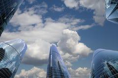 Grattacieli del centro di affari internazionale (città), Mosca, Russia Fotografie Stock Libere da Diritti