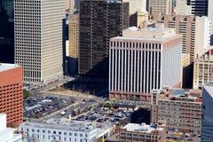 Grattacieli del centro di Dallas Fotografia Stock