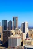 Grattacieli del centro di Dallas Immagini Stock