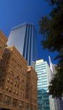 Grattacieli del centro di Dallas Immagine Stock Libera da Diritti