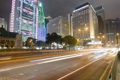 Grattacieli del centro di Hong Kong Immagine Stock
