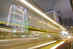 Grattacieli del centro di Hong Kong Fotografia Stock Libera da Diritti