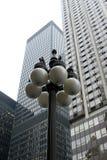 Grattacieli del centro - edifici alti urbani fotografia stock