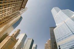 Grattacieli del Chicago Fotografie Stock Libere da Diritti