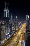 Grattacieli del Dubai Fotografia Stock