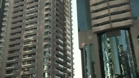 Grattacieli del Dubai stock footage