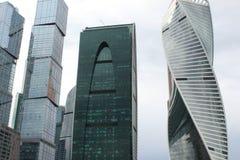 Grattacieli della capitale: Mosca e San Pietroburgo, impero ed evoluzione Fotografia Stock Libera da Diritti