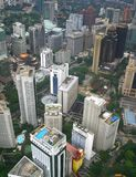Grattacieli della città fotografie stock libere da diritti