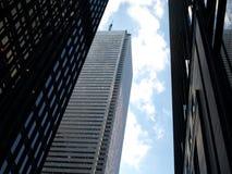 Grattacieli della città Fotografia Stock