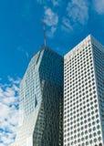 Grattacieli della difesa della La Fotografia Stock