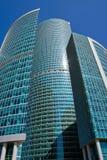 Grattacieli di affari Fotografia Stock