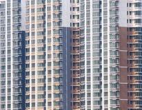 Grattacieli di appartamento Fotografia Stock Libera da Diritti
