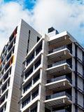 Grattacieli di appartamento moderni Fotografia Stock