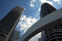 Grattacieli di Brisbane immagine stock libera da diritti