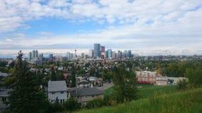 Grattacieli di Calgary Fotografia Stock