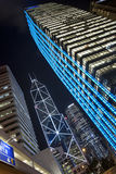 Grattacieli di Hong Kong Fotografie Stock Libere da Diritti
