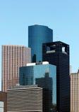 Grattacieli di Houston fotografie stock libere da diritti