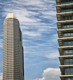 Grattacieli di Houston Immagini Stock