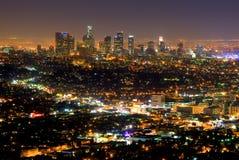 Grattacieli di Las Angeles Immagine Stock Libera da Diritti